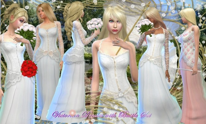 Victorian Dress with Bustle Set at Mythical Sims image 10123 670x402 Sims 4 Updates
