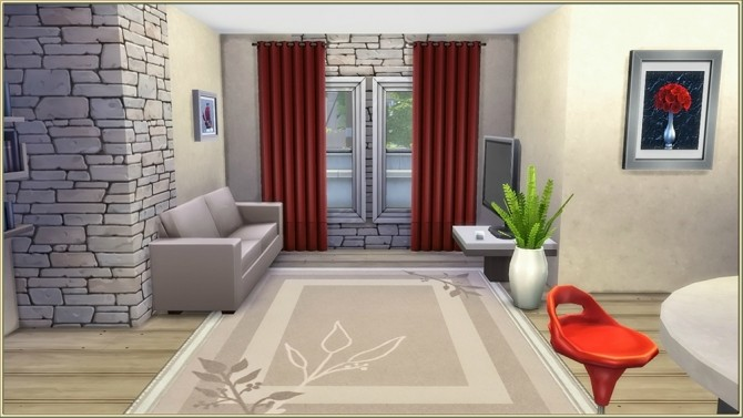 Stones starter house by fatalist at ihelensims image 1013 670x377 Sims 4 Updates