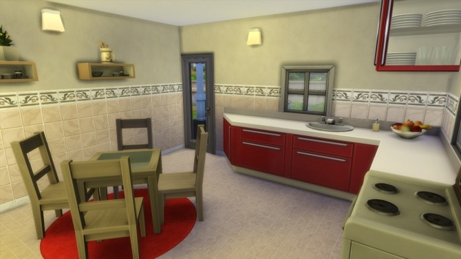 Sims 4 Dylan Starter house at Totally Sims