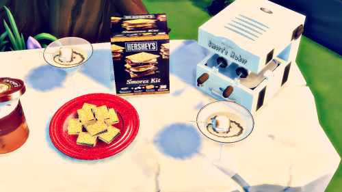 Gimme S'more! summer camping conversions at LindseyxSims » Sims 4 ...