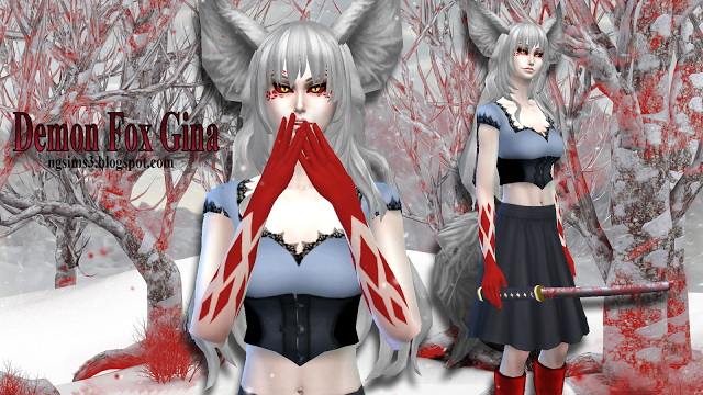 Demon Fox Gina at NG Sims3 image 10414 Sims 4 Updates