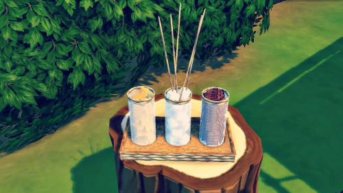 Sims 4 Gimme S'more! summer camping conversions at LindseyxSims