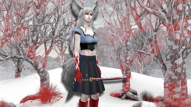 Sims 4 Demon Fox Gina at NG Sims3