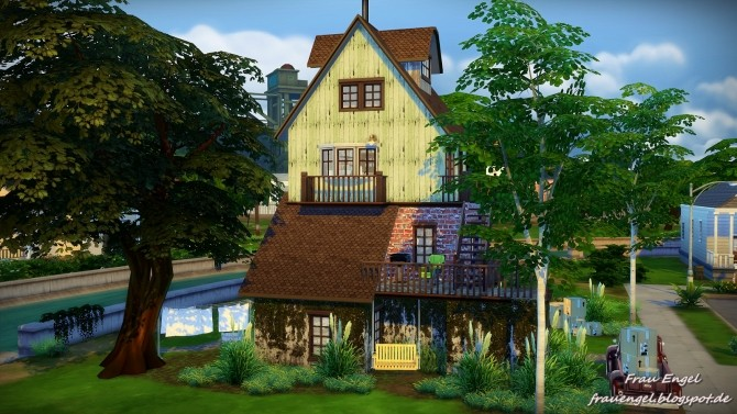 Old lane house at frau engel sims 4 updates for Classic house sims 4