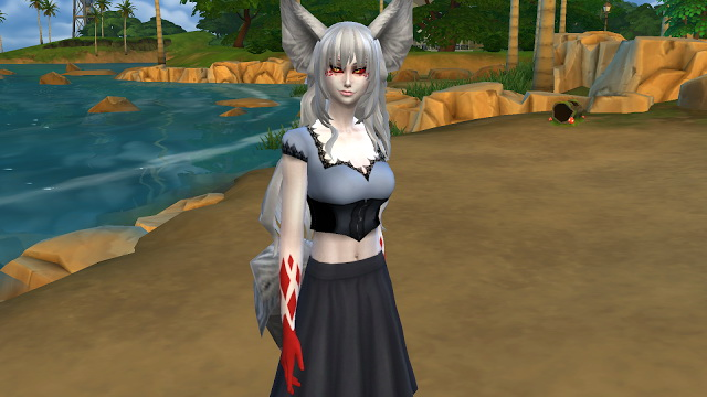 Demon Fox Gina at NG Sims3 image 10715 Sims 4 Updates
