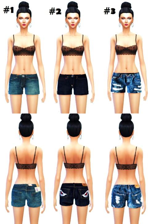 Sims 4 Short Short Jeans at McKenzie Layne