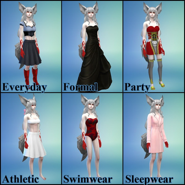 Demon Fox Gina at NG Sims3 image 10916 Sims 4 Updates