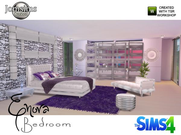 Sims 4 Enora Bedroom at Jomsims Creations