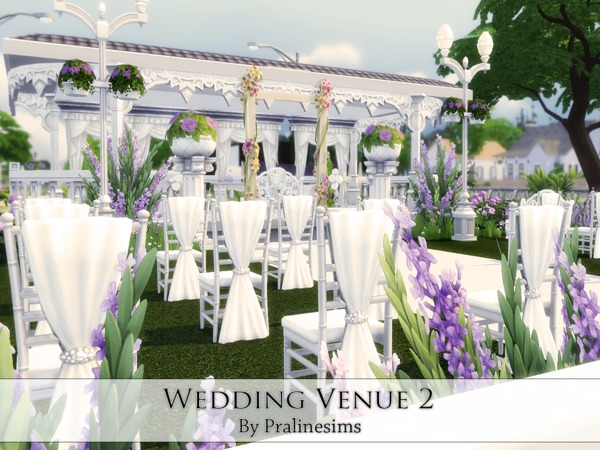 Wedding Venue 2 By Pralinesims At TSR » Sims 4 Updates