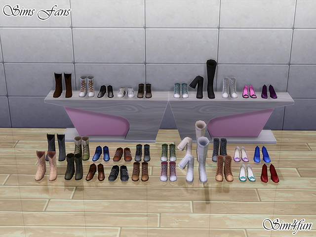 Liberated Sims 4 Dresses And Shoes By Sim4fun At Sims Fans 187 Sims 4 Updates