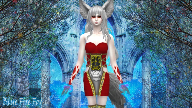Demon Fox Gina at NG Sims3 image 11119 Sims 4 Updates