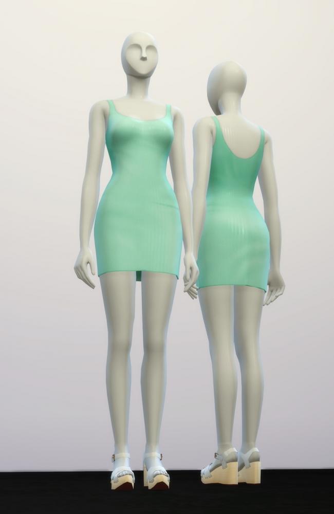 Basic Dress M Ii At Rusty Nail 187 Sims 4 Updates