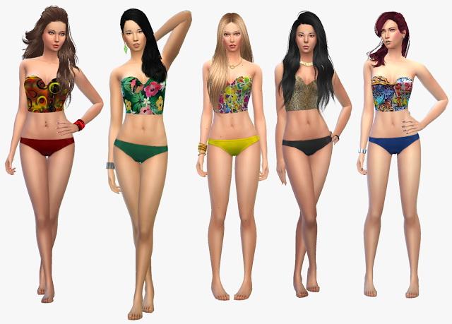 Sims 4 Bikini Set 2   4 at 19 Sims 4 Blog