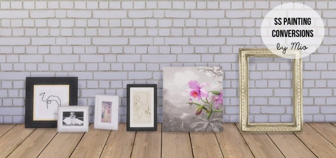 Simply Styling painting conversions at MIO Sims image 1135 670x315 Sims 4 Updates