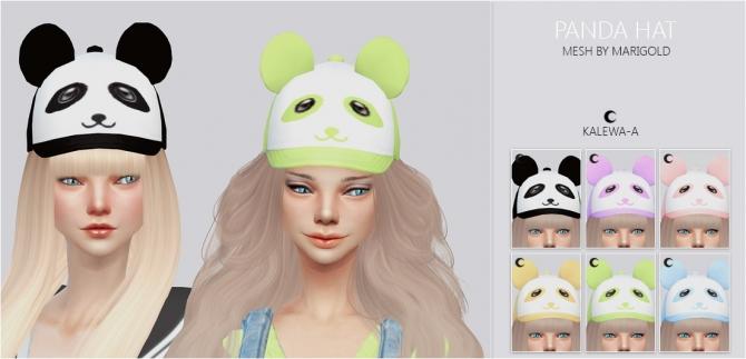 Ts4 Panda Hat At Kalewa A 187 Sims 4 Updates