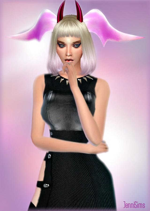 Sims 4 Horns Ear Fantasy at Jenni Sims