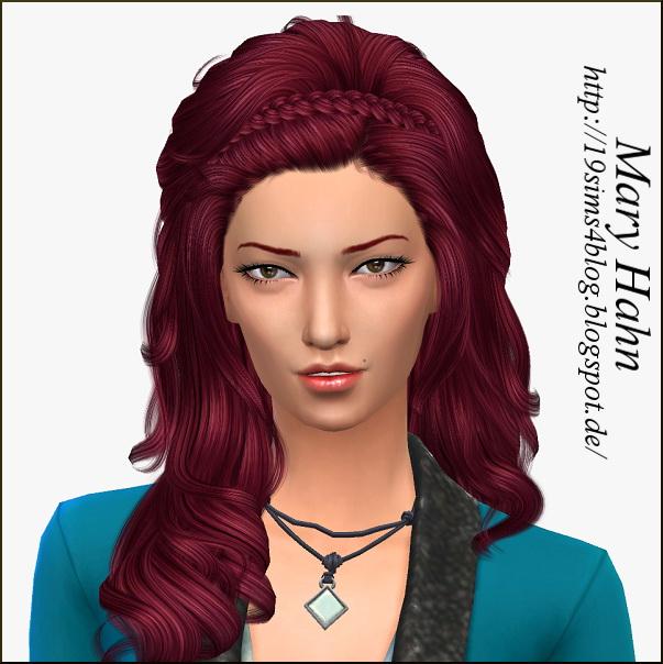 Sims 4 Mary Hahn at 19 Sims 4 Blog