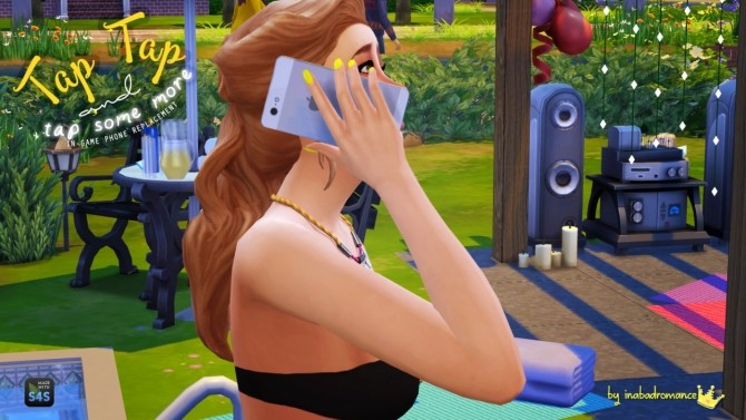 Sims 4 Default Replacement Phones + Accessory phones at In a bad Romance
