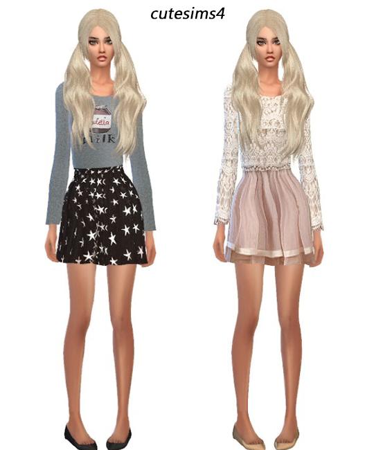 sweet dress set at cute sims4 image 1211 sims 4 updates