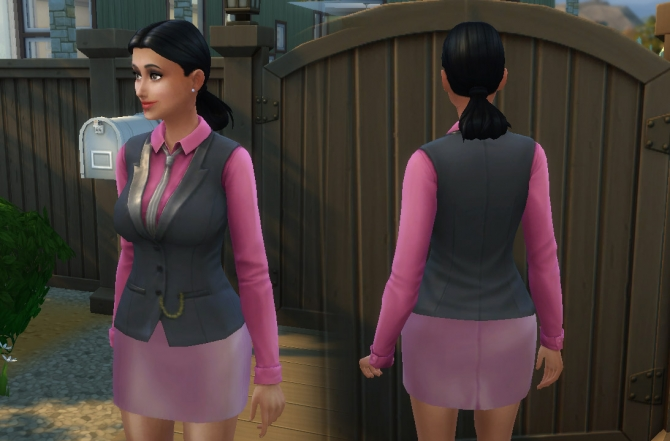 Mob Boss As Top At My Stuff 187 Sims 4 Updates