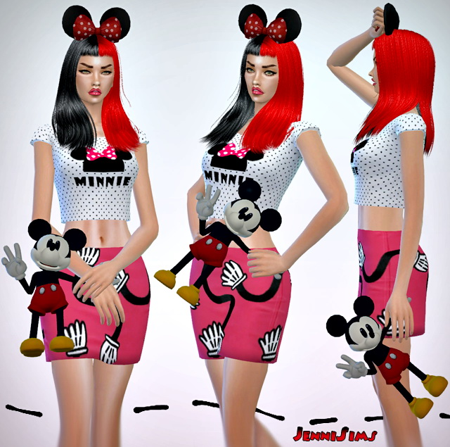 Mickey Doll (right ,left) acc at Jenni Sims image 1213 Sims 4 Updates