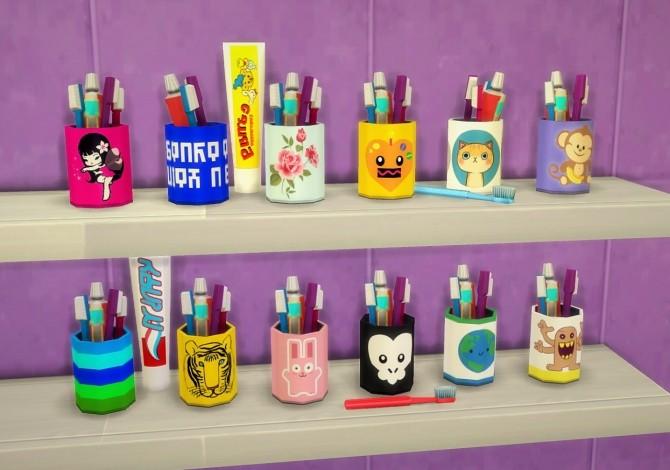 Sims 4 Toothbrush Mug 2.0 at Budgie2budgie