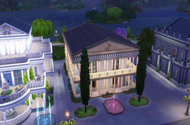 Sims 4 Nightclub Olymp by SimsAtelier at Blacky's Sims Zoo