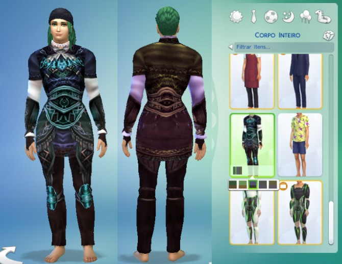 Sims 4 Rufus Outfit at My Stuff