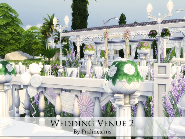 Wedding Venue 2 By Pralinesims At Tsr 187 Sims 4 Updates