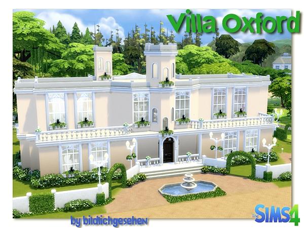Villa Oxford by Bildlichgesehen at Akisima image 12611 Sims 4 Updates