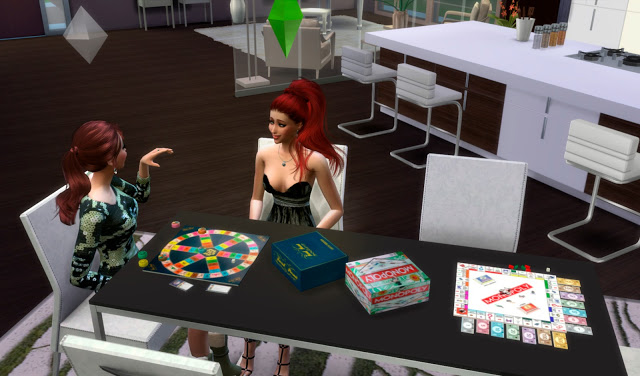 Sims 4 Monopoly and Trivial Clutter Games at pqSims4