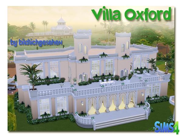 Villa Oxford by Bildlichgesehen at Akisima image 12710 Sims 4 Updates