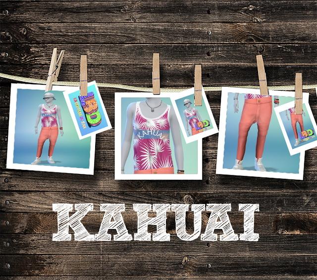 Sims 4 KAHUAI LBD clothes at La Boutique de Jean