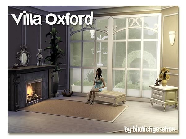 Villa Oxford by Bildlichgesehen at Akisima image 12910 Sims 4 Updates
