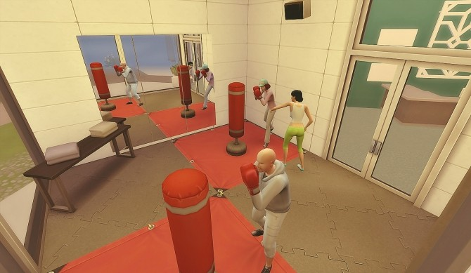 Sims 4 Newcrest Fitness at Via Sims