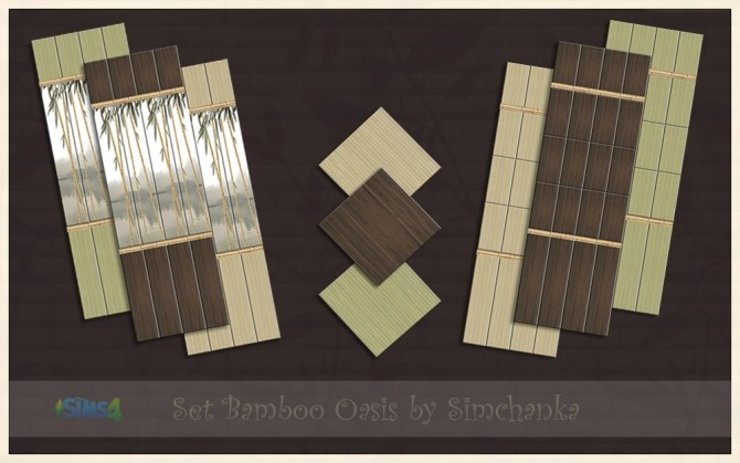 Set Bamboo Oasis by Simchanka at ihelensims image 1297 670x419 Sims 4 Updates