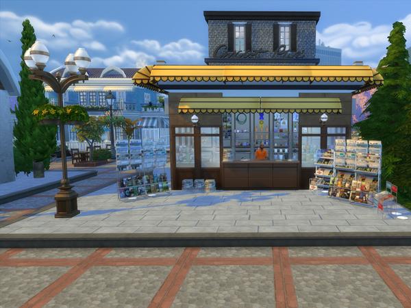 Sims 4 Shopping Entertainment center by Danuta720 at TSR