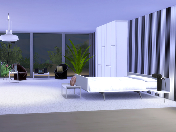 Bedroom Minimalist by ShinoKCR at TSR image 1317 Sims 4 Updates