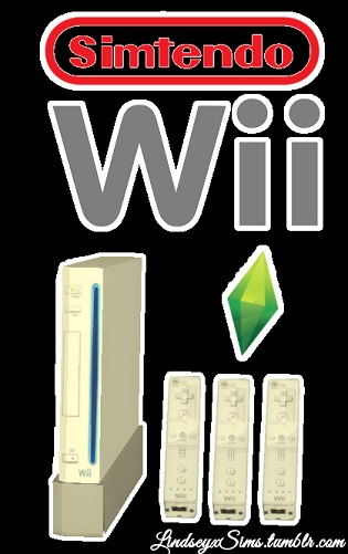 Sims 4 Wii deco at LindseyxSims
