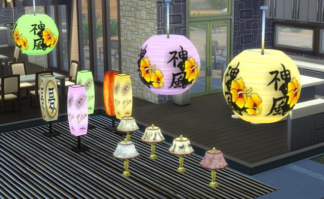 Sims 4 Recolor Oriental Collection Part 2 at El Taller de Mane