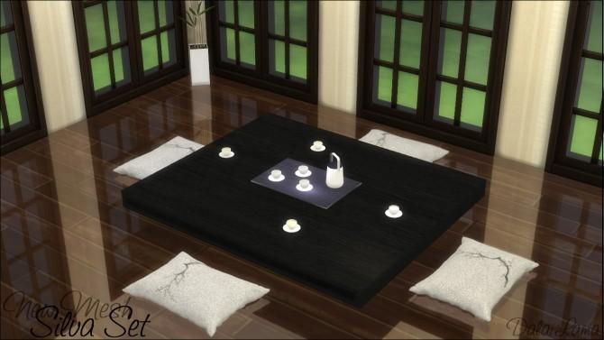 Sims 4 Silva Set by DalaiLama at The Sims Lover