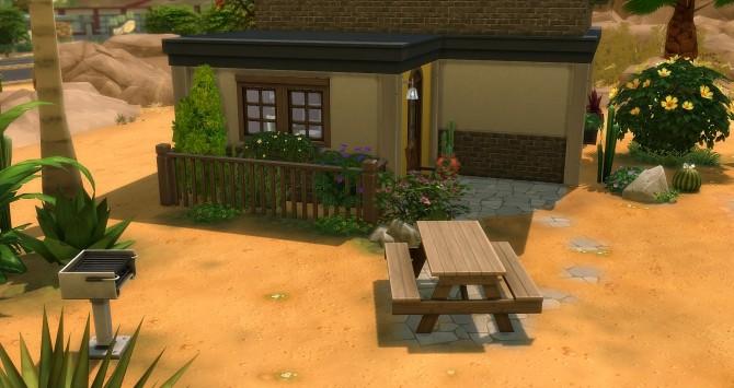 Sims 4 Aloe Starter house at Studio Sims Creation