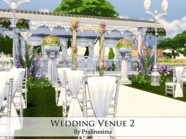 Wedding Venue 2 By Pralinesims At Tsr Sims 4 Updates