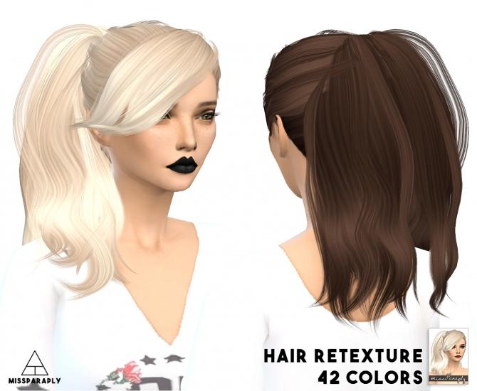 ... retextures hair dump: part 1 at Miss Paraply » Sims 4 Updates