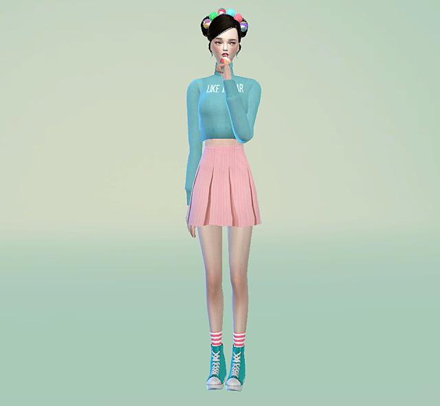 Pleat skirts at Marigold image 13811 Sims 4 Updates