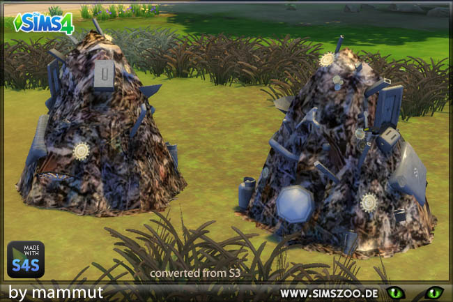 Sims 4 Junkpile by mammut at Blacky's Sims Zoo