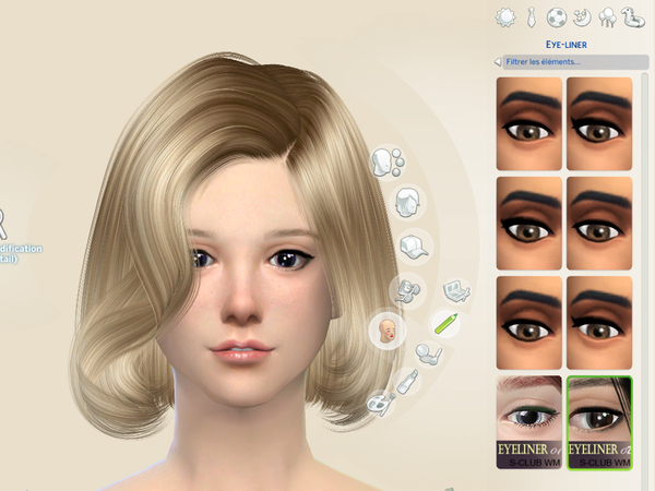 Eyeliner 02 by S Club WM at TSR image 13822 Sims 4 Updates