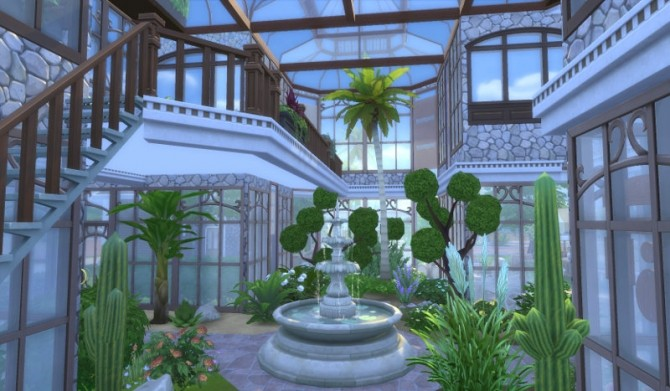 Greenhouse Set Part 1 At Leander Belgraves 187 Sims 4 Updates