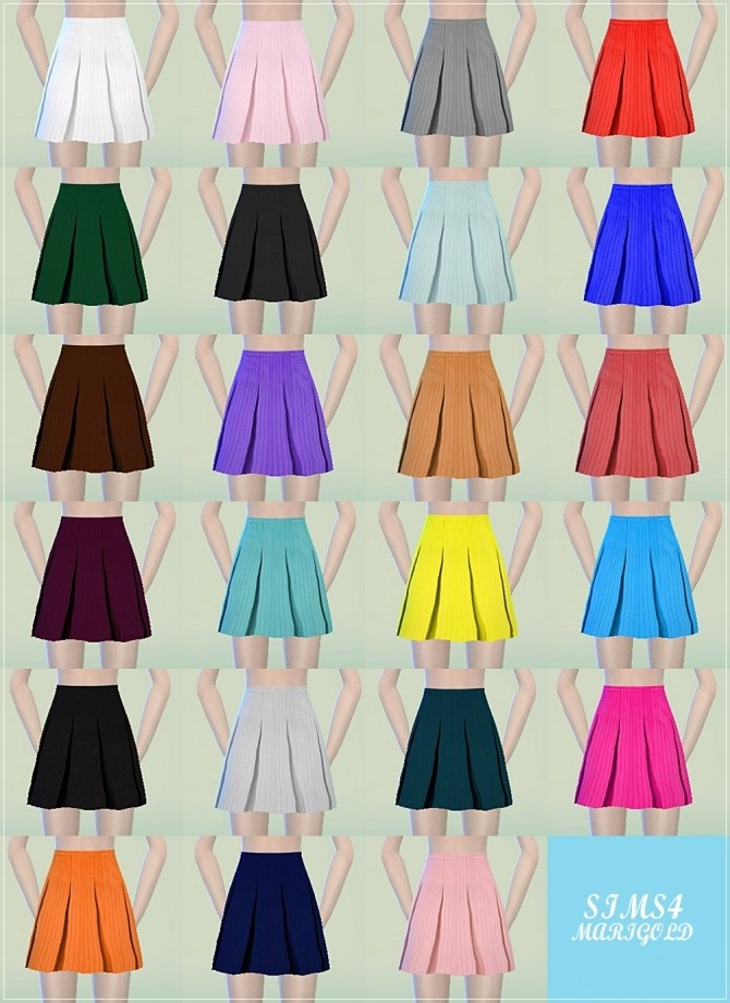 Pleat skirts at Marigold image 13910 670x921 Sims 4 Updates