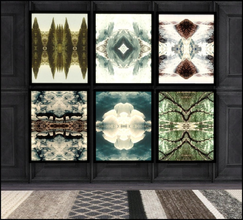 Nature's palette paintings + rug collection 5 at Hvikis image 13917 Sims 4 Updates